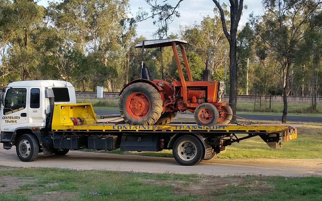 Machinery Transportation Service