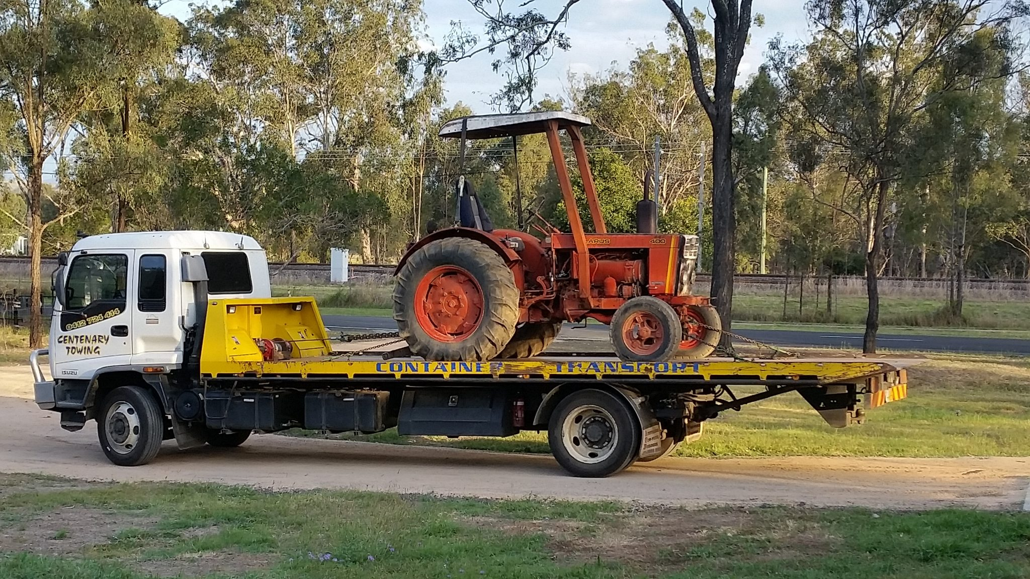 Machinery Transport Queensland
