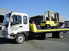 forklift transport Brisbane