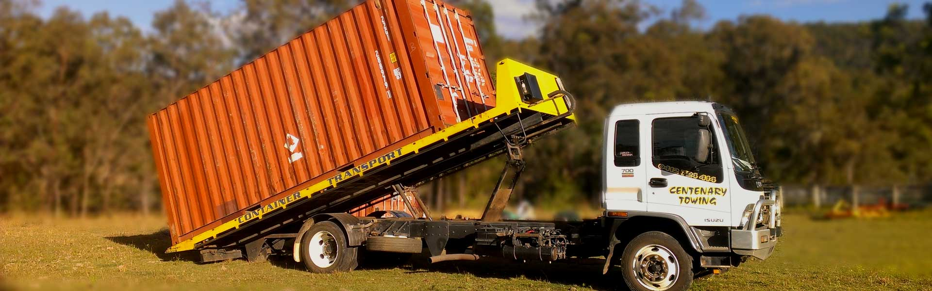 Brisbane Shipping Container Transport